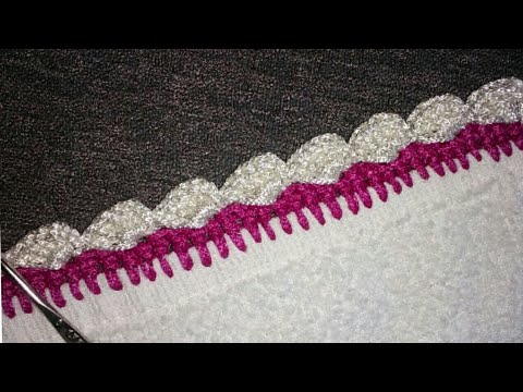 Crochet Easy Dupatta Lace Patternnew Look Lace Pattern In Hindi