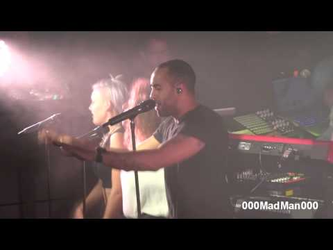 Rudimental - Give You Up - HD Live At Maroquinerie, Paris (30 September 2013)