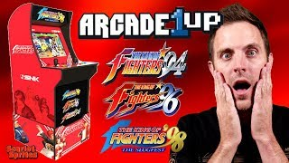 Arcade1Up SNK King of Fighters Cabinet Reaction!
