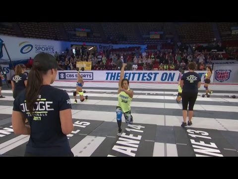 The CrossFit Games - Masters 35-49 Assault Lunge