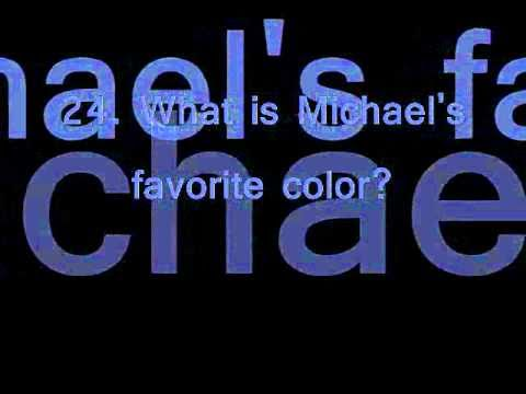 Michael Jackson Quiz