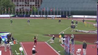 2016 NCAA Finals Javelin Nicolle Murphy 55.84m
