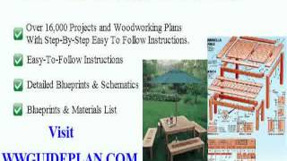 Free Building Log Furniture Plans