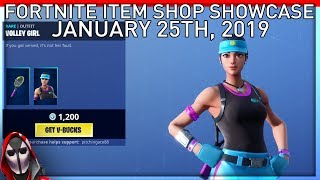 *NEW* Volley Girl Skin! January 25th New Skins || Daily Fortnite Item Shop