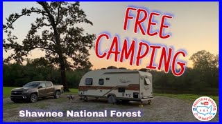 FREE RV Camping iฑ Shawnee National Forest Illinois ~ Full Time RV living ~ POA vlog