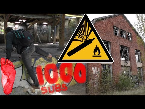 👣 Barefoot Urbexer's 1,000 SUBSCRIBERS SPECIAL 👣 The Old Gas Plant | Urban Exploration (UrbanEx)