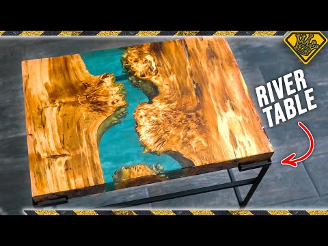 Resin River Handmade Table
