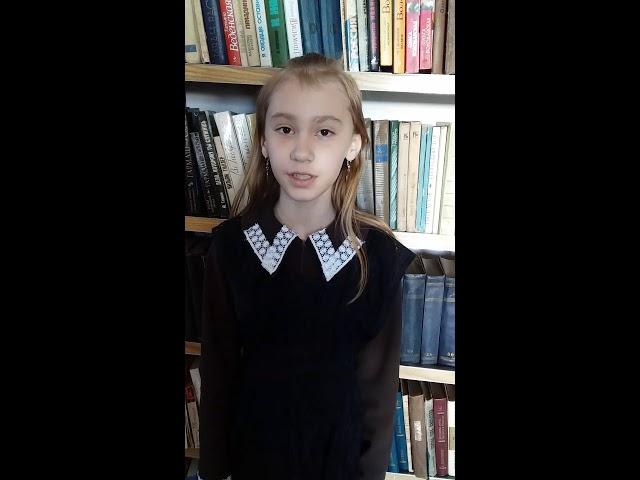 Изображение предпросмотра прочтения – АделинаГизетдинова читает произведение «Черемуха» Е.А.Благининой
