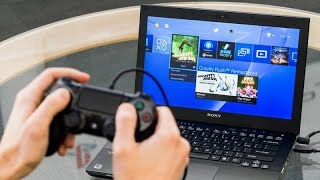 how to use laptop or computer as a screen for your playstation 4