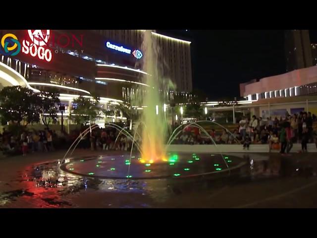 Nhạc nước nhảy múa tại quảng trường trung tâm