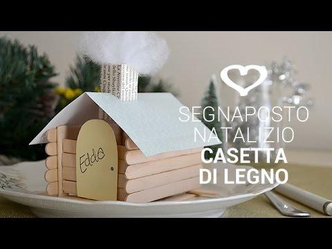 Casetta Di Natale Da Colorare : Tutorial: come realizzare un segnaposto natalizio a forma di casetta