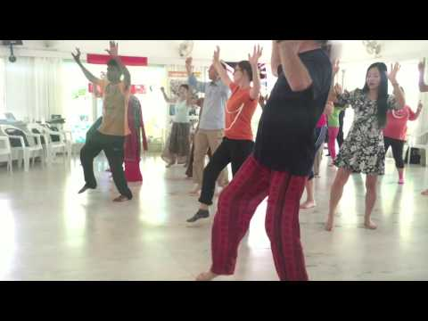Laughter Yoga Festival   August 2016   Laughter Dance by Manohar