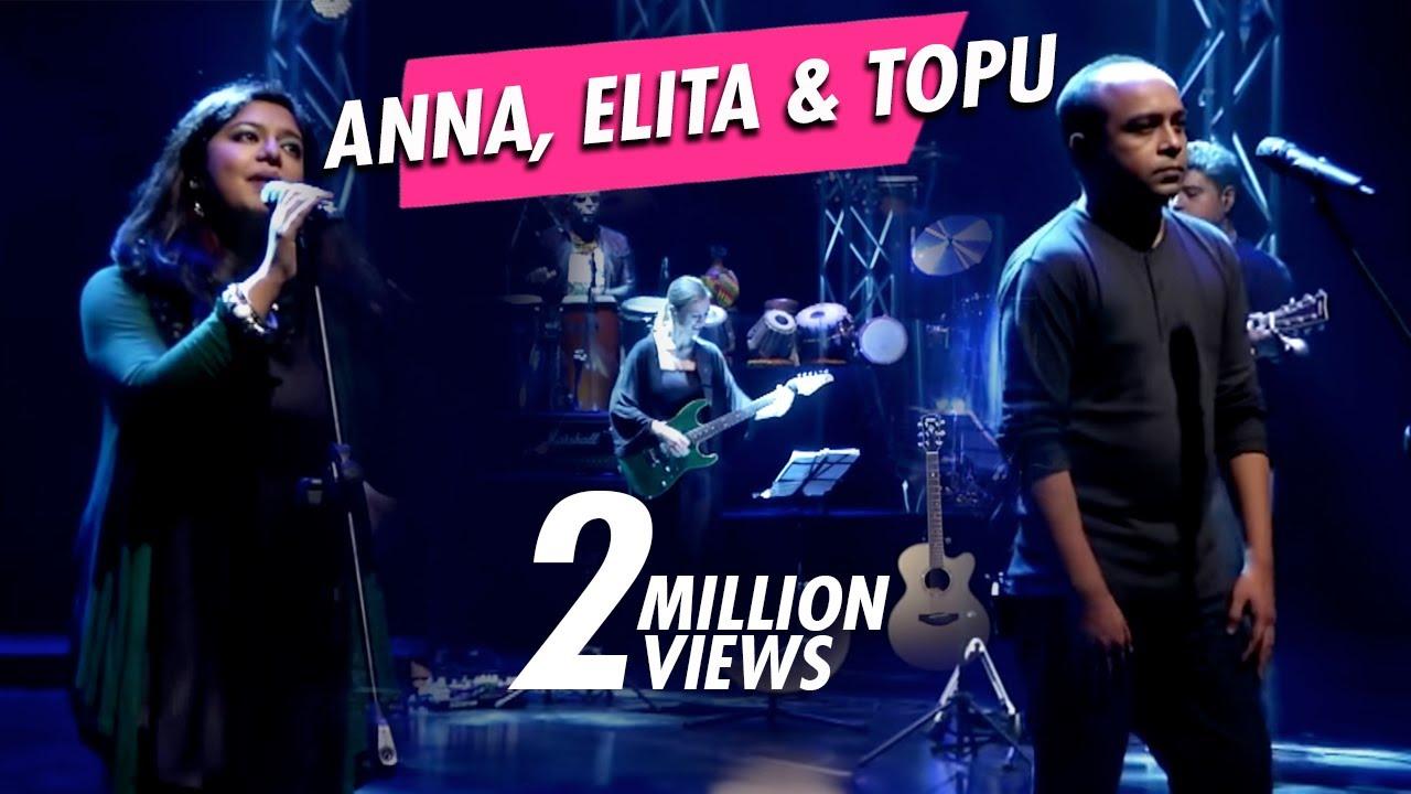 TAPOSH FEAT. ANNA, ELITA & TOPU [ MEDLEY ] : ROBI YONDER MUSIC WIND OF CHANGE [ PS:02 ]
