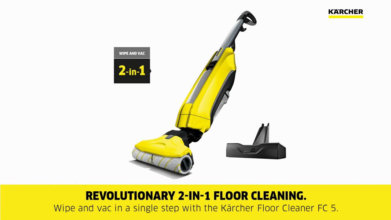 karcher new fc 5 hard floor cleaner youtube. Black Bedroom Furniture Sets. Home Design Ideas