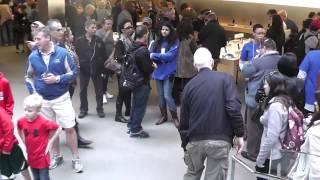 Nueva York 2012 - La tienda Apple en la Quinta Avenida