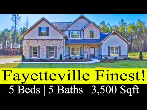 New Construction Homes In Fayetteville, GA
