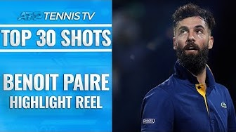 Top 30 Ridiculous Benoit Paire Shots!