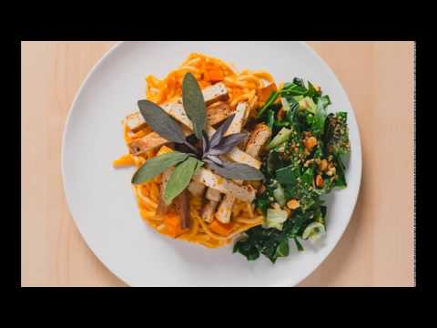 Slide Show Meal Delivery Dishes Video