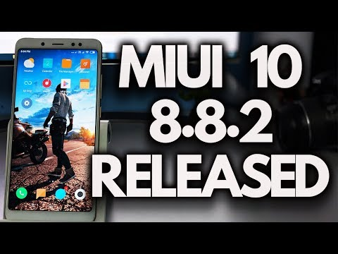 MIUI 10 8.8.2 Update Redmi Note 5 PRO & Other XIAOMI Phones [INSTALL]