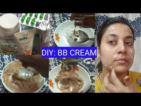 Ghar Per Hi Banaye Man Chahye Skintone ki BB cream | DIY BB Cream At Home | Nidhi's World