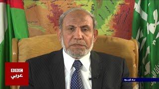 محمود الزهار العضو البارز في حركة حماس في بلا قيود