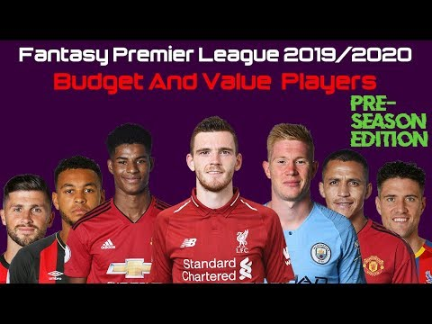 best fantasy football lineup 2020 Best Budget and Value Players   FPL 2019/2020   YouTube