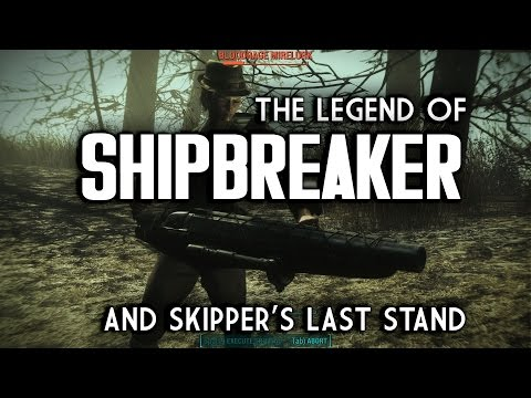 The Legend of Shipbreaker - How to Get Skipper's Last Stand - Fallout 4 Far Harbor