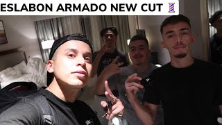 ESLABON ARMADO VIDEO SHOOT HAIRCUTS