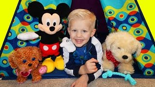 Georgie Puppy & Mickey Mouse Playtime with Family Fun Pack thumbnail