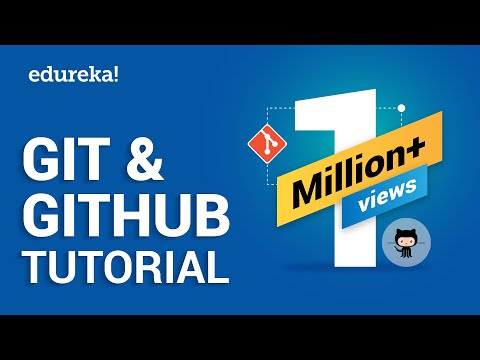 What is Git | What is GitHub | Git Tutorial | GitHub Tutorial | Devops Tutorial | Edureka