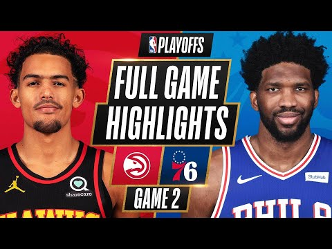 #5 HAWKS at #1 76ERS | FULL GAME HIGHLIGHTS | June 8, 2021