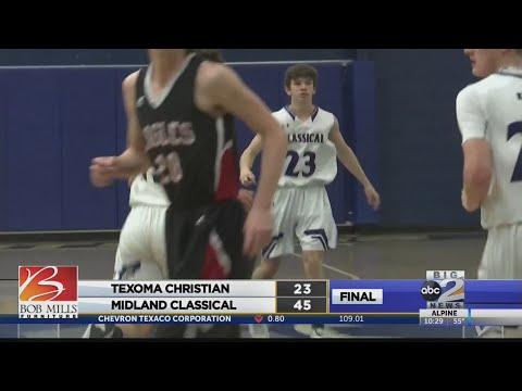 Texoma Christian vs. Midland Classical boys