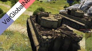 War Thunder fr tank astuce - Petit test mode réaliste - 60fps / 1080p