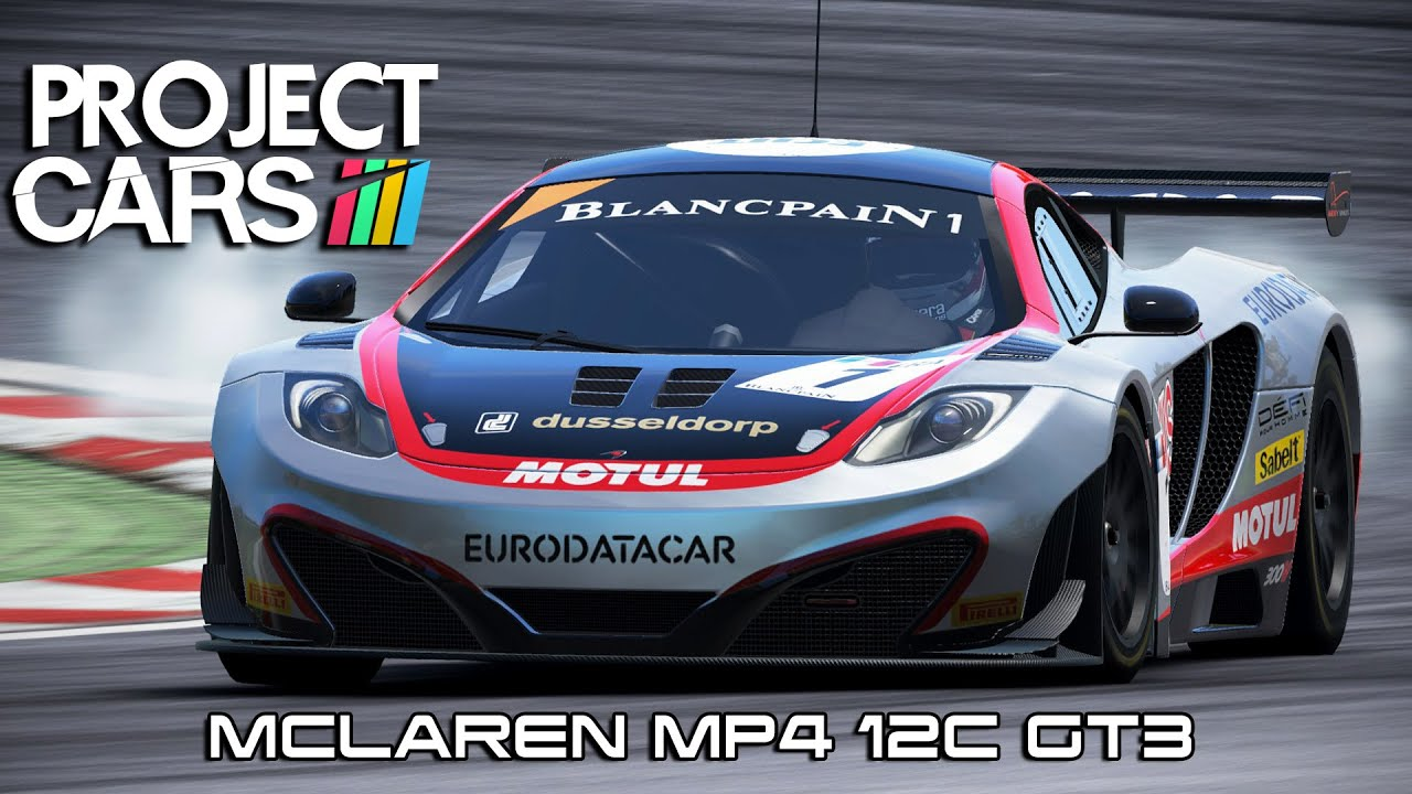 Project Cars Mclaren Mp4 12c Gt3 Youtube