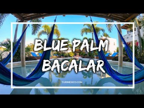Hotel Blue Palm Bacalar en Quintana Roo