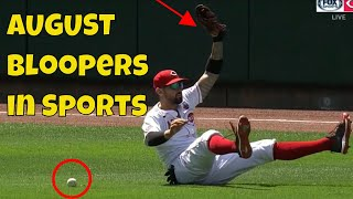 August Top 50 Sports Bloopers of the Month | Fails \u0026 Funny Moments