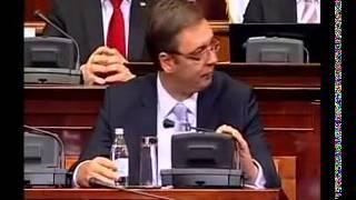 Ulazak Aleksandra Vučića u Skupštinu