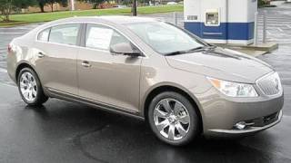 2010 Buick LaCrosse CXS 3.6 In Depth Review, Start Up, Engine, and Overview of Features