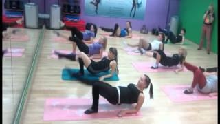Мастер класс по стретчингу от Остроуховой Ольги.1 курс ( Растяжка, шпагат )