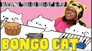Bongo Cat Blackpink DDU DU DDU DU K Pop by Beebo | ANimation Reaction