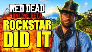 OMG! Rockstar ACTUALLY DID THIS in Red Dead Online... (New Update)