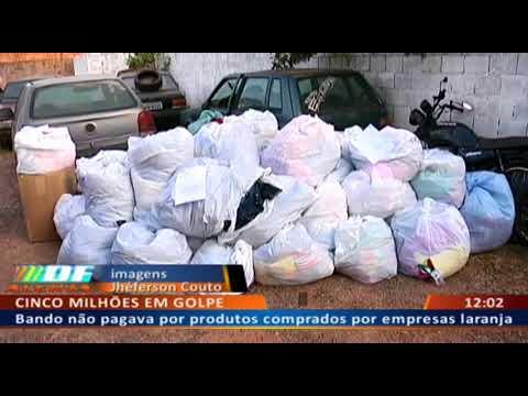 DF ALERTA - Bando não pagava por produtos comprados por empresas laranja