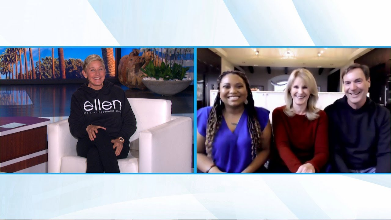 Ellen Meets Texas Couple Who Opened Home to Stranded Grocery Driver