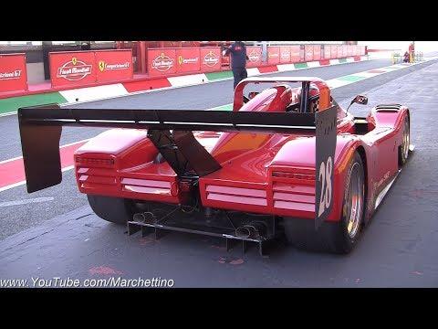 Ferrari 333 SP Insane V12 Sound - BETTER THAN A FORMULA 1?!
