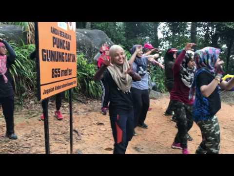 """2nd video Zumba at Gunung Datuk (3G) """"1St in Malaysia"""""""