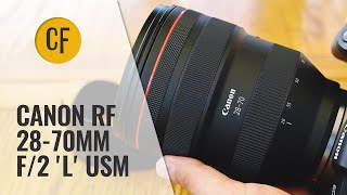 Canon RF 28-70mm f/2 'L' USM lens review with samples