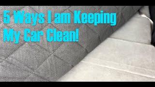 5 Ways I Am Keeping My Car Clean, Organized & In Good Shape!