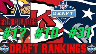 Who WON The NFL Draft? PLUS 2020 NFL Draft FAN Grades