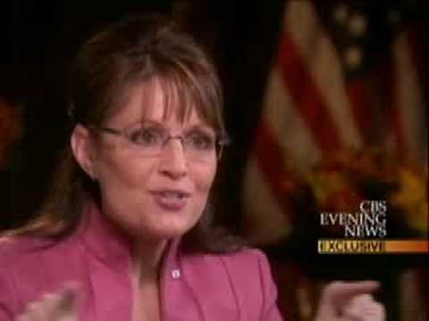 Palin On Russia, Putin And Putin's Head