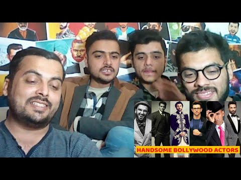 Pakistani Reacts on | 20 Most Handsome Actors in India 2018 | Bollywood